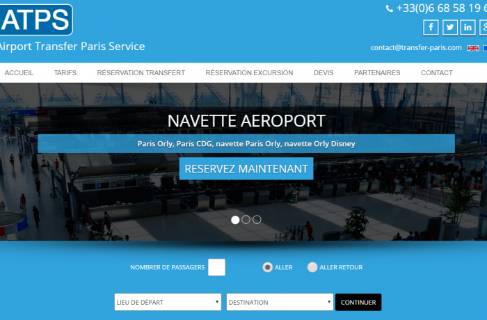 Airport Transfer Paris Service
